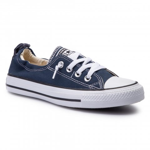 Plátěnky CONVERSE - Ct Shoreline Slip 537080C Athletic Navy 1 (36)