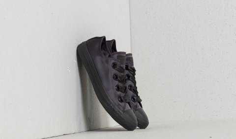 Converse Chuck Taylor All Star Big Eyelets Ox Almost Black/ Almost Black