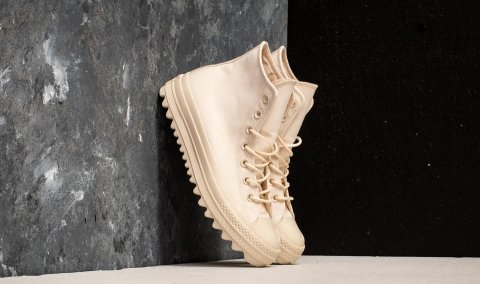 Converse Chuck Taylor All Star Lift Ripple Hi Natural/ Natural/ Natural