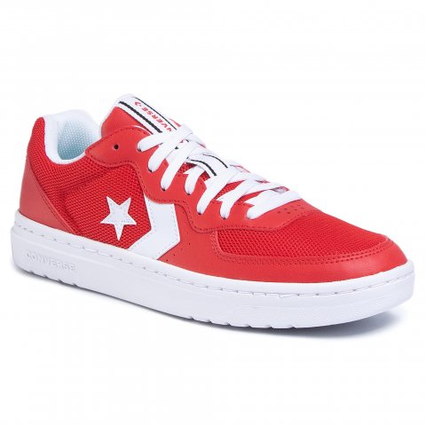 Sneakersy CONVERSE - Rival Ox 167529C University Red/White/White (45)