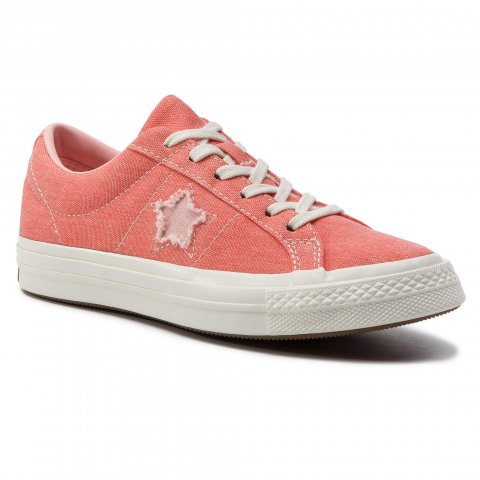 Tenisky CONVERSE - One Star Ox 164362C Turf Orange/Bleached Coral (40)