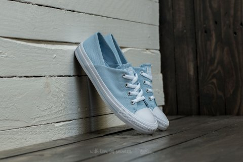 Converse Chuck Taylor All Star Coral Ox Porpoise/ White/ White